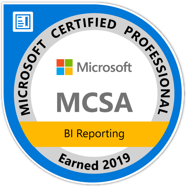 MCSA-BI-Reporting-2019